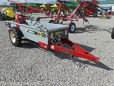 H&S 50 Bu Ground Driven Manure Spreader: ABSOLUTELY BEST BRAND & BUY!!!