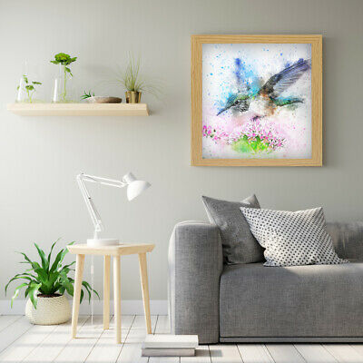Square Photo Picture Poster Frame Wall Hanging Black White Oak Dark Oak Frames