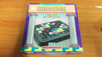 Vintage 1990 Board Game - Hannibal 100% Complete