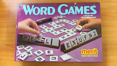 Vintage Board Game - Word Games - 100% Complete - 8 different word games