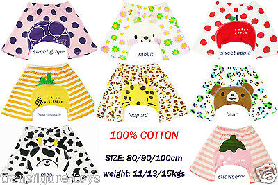free ship 100% cotton Baby boys girls bloomer nappy cover short pants 11-15kgs