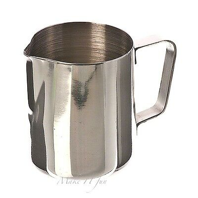 12 oz Frosting Pitcher Cappuccino Latte Coffee Steam Milk Stainless Steel 350 ml