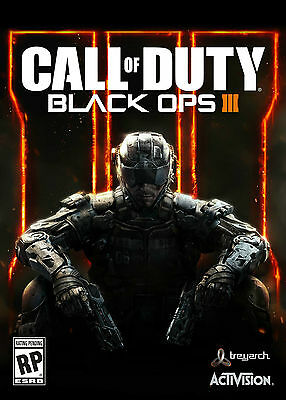 Call of Duty: Black Ops 3 PC [Steam Key] NO Disc BLOPS 3 + Nuketown