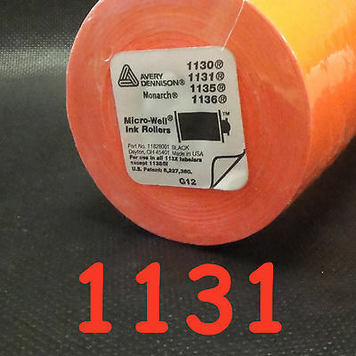Avery Dennison 1131 RED labels for the Monarch 1131 price gun 8 rolls