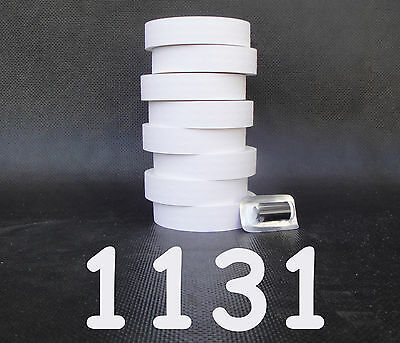 Monarch 1131 price gun WHITE labels,1 case=8 sleeves with ink roller Made in USA