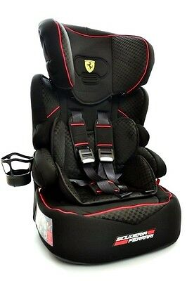 Ferrari Car Seat GT Black Limited - Up to 80lbs / 9-36 kg model 2017 Brand NEW
