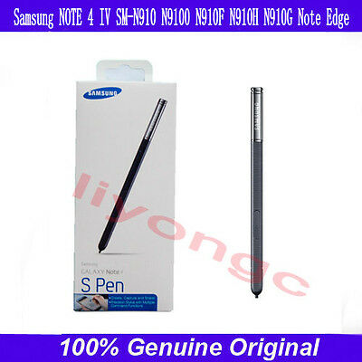 Original Stylus S Pen New in Retail Packing for SAMSUNG GALAXY Note 4 Black