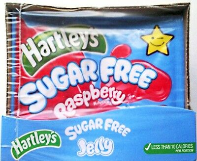 Hartleys Sugar Free Jelly Raspberry 12 x 23gm