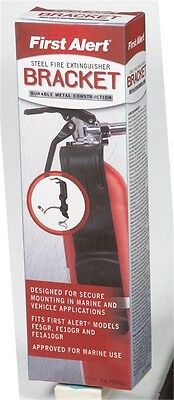 First Alert Fire Extinguisher Bracket 2 Lb. Us Coast Guard Approved