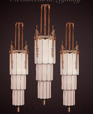 Art Deco Theater Lantern/ Chandelier