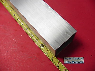 "3""x 3""x 1/8"" Wall x 14"" Long ALUMINUM SQUARE TUBE 6063 T52 3"" SQ x .125"""