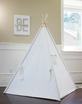 Teepee tipi kids teepee tent play tent, Plain Canvas teepee from BC, Canada