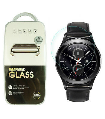 HD Clear Hardness Tempered Glass Screen Protector For Samsung Gear S2 Classic