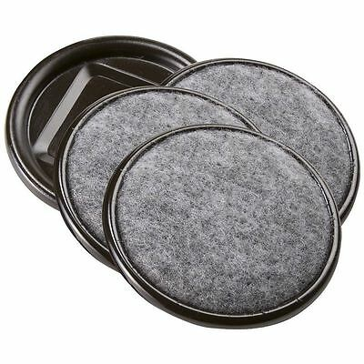 Floor Protector Pads Soft Touch Hyderon Furniture Circular Round Caster Cups