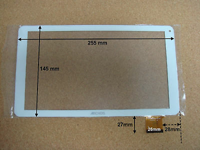 Vitre tactile de rechange pour tablette ARCHOS 101 B COPPER - 18978