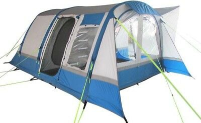 OLPro Cocoon Breeze Inflatable Campervan Drive Away Air Awning | Grey & Blue