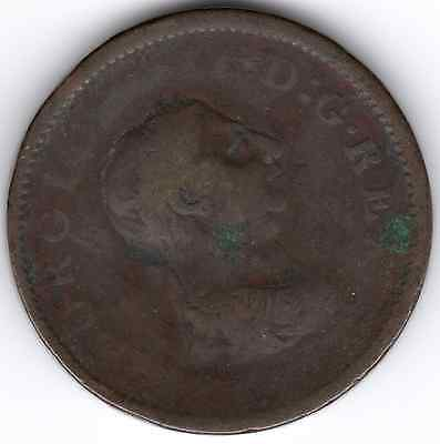 1806 KING GEORGE III ONE PENNY 1d - (a)