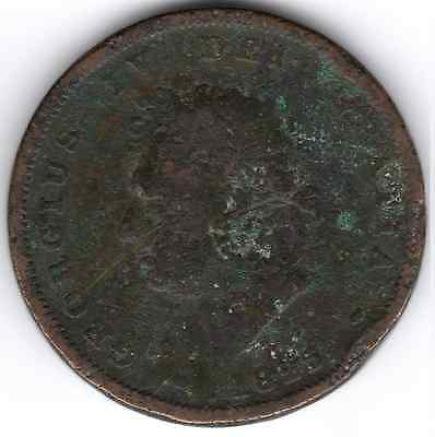 1825 KING GEORGE IV ONE PENNY 1d - (a) IIII