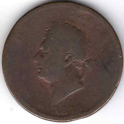 1826 KING GEORGE IV ONE PENNY 1d - (a) IIII