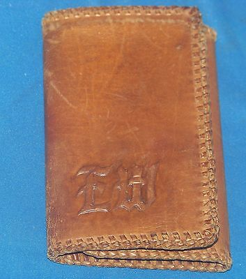 Prince Gardner Leather Western Style Wallet Vintage Original Leather Wallet