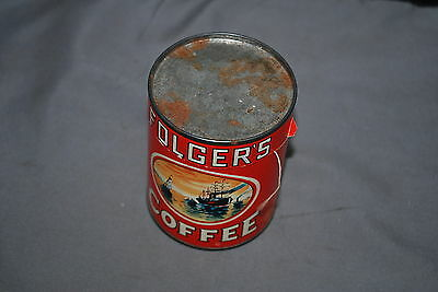 Folgers Coffee Can With Puzzle In It Rare Give Away Promotion Folgers Item