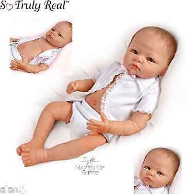 Ashton Drake LITTLE BABY GRACE, Full Body poseable baby lifelike doll