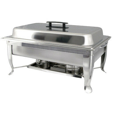 Winware by Winco C-1080 Folding-Stand Chafer Dish