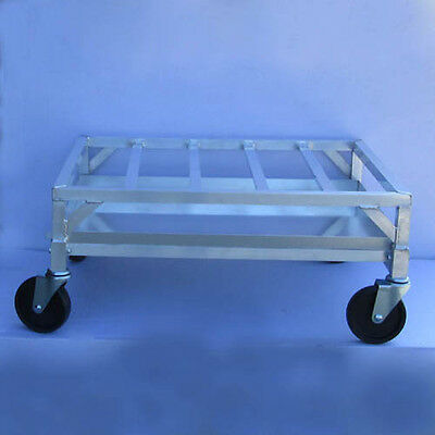 Channel Poultry Crate Dolly Aluminum