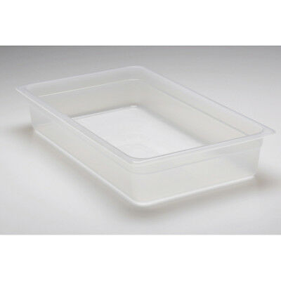 "Cambro Translucent Food Pan, Full Size (12"" x 20"") Size 6"""