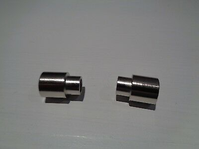 3 Woodturning bushings for 30 Caliber Bolt Action or Lock N Load Bullet Pen Kit