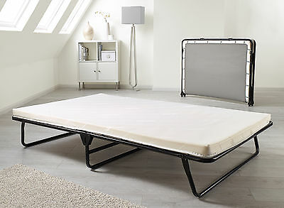 Jay Be Core Memory Folding Double Guest Bed with Memory Foam Mattress