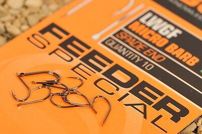 GURU SPADE LWG FEEDER SPECIAL BARBED HOOKS SIZE 16, 10pcs FOR MATCH FISHING