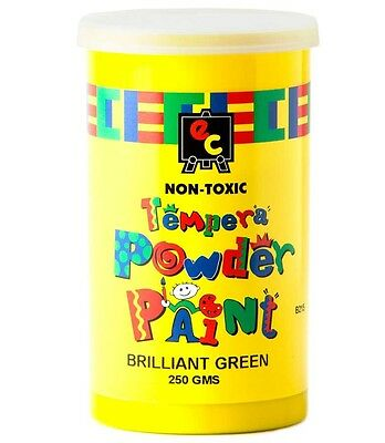 250g Powder Paint Powdered Tempera  - 9 AWESOME Colours - Paint Parties