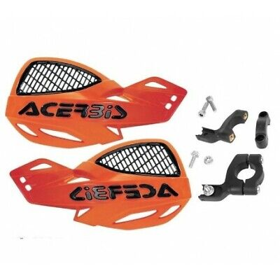 Protection main Air Flit Orange Pour Motos Jawa Ossa Puch Real Rixe