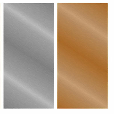 Copper or Aluminium 0.3mm select your own Flexible coiling sheet