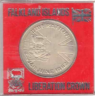 1982 Crown Falkland Islands Falklands 50P Liberation 14Th June 1982 50 Pence