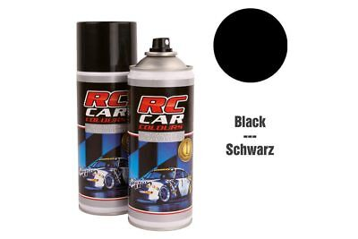 RC Car Colours - Lexan Spray Schwarz 150ml (6.60 Euro pro 100 ml)