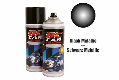 RC Car Colours - Lexan Spray Schwarz Metallic 150ml (6.60 Euro pro 100 ml)