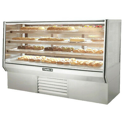 "Leader HBK77 High Bakery Display Case 77"" Self Contained"