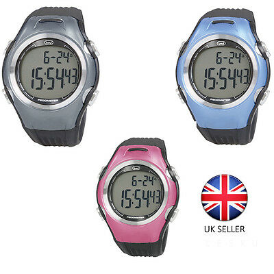 Trevi 3d Sports Watch with Pedometer Calorie Step Count and Distance Tracker