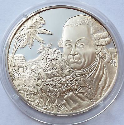 Seychelles 1978 Silver Proof Medal Honoring the Bicentennial of Victoria !