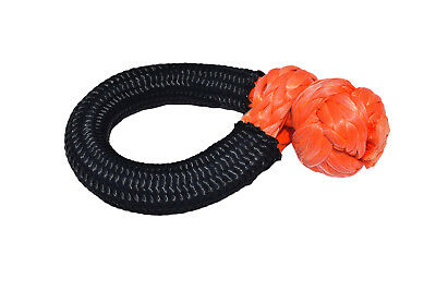 """3/8""""*80mm orange soft shackle,UHMWPE Soft Shackles,Synthetic Shackle 31000lbs"""