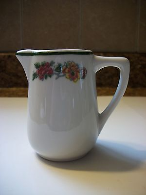 Vintage Mayer China Floral Syrup Pitcher Creamer # 180