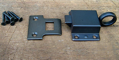 Solid Brass Reproduction Transom Window Latch ( Oil Rubbed Bronze )
