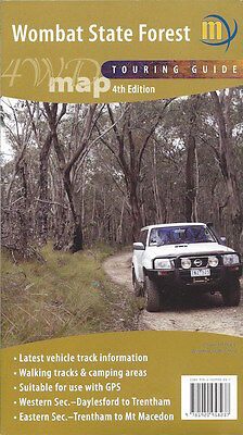 Meridian Wombat State Forest 4WD Touring Map *FREE SHIPPING - NEW*