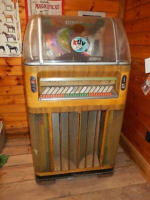 1952 Rock Ola Fireball Jukeboc Zum Restaurieren