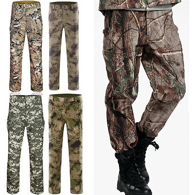 Mens Jungle Military City Tactical Hiking Camping Outdoor Casual Pants Trousers