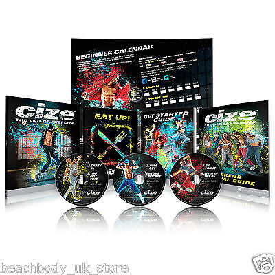 CIZE Shaun T Dance Fitness Exercise Programme Workout DVD Boxset Package NEW