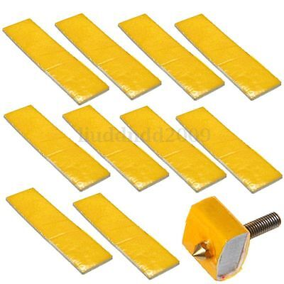 10X 2.5mm Thick 3d Printer Heating Block Cotton Hotend Hozzle Heat Insulation
