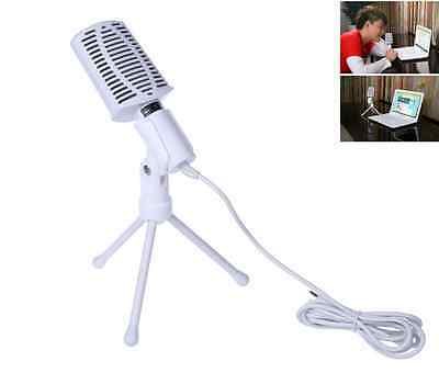 3.5mm Condenser Microphone Mic Recording Vocals&Acoustic Instruments For PC Desk